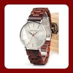 Classy wooden watch Wooden Watch, Watches For Men, Classy, Elegant, Casual, Leather, Accessories, Wooden Clock, Men's Watches
