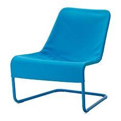 LOCKSTA sillón, azul Ancho: 71 cm fondo: 75 cm Altura: 78 cm
