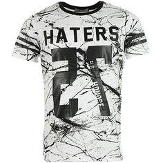 Tee Shirt Gov Denim 85022 Blanc - LaBoutiqueOfficielle.com