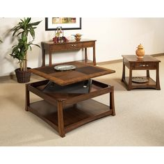 Have to have it. Somerton Dwelling Milan Square Lift Top Cocktail Table - $399.84 @hayneedle