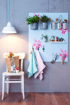 Um painel de cozinha, DIY e lindo! - dcoracao.com - blog de decoração e tutorial diy