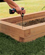 how to build raised garden. How To Build A Raised Planting Bed Garden