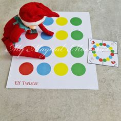 Birthday Elf, Birthday Gifts, Twister Game, Activities To Do, Christmas Elf, Best Games, Elf On The Shelf, Free Printables, Arts And Crafts