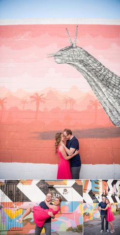 Downtown Las Vegas Engagement Session | KMH Photography | Las Vegas Engagement Photographer
