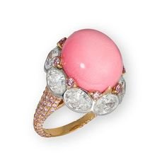 David Morris conch pearl ring