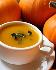 Low FODMAP Recipe and Gluten Free Recipe - Pumpkin soup   http://www.ibssano.com/low_fodmap_recipe_pumpkin_soup.html