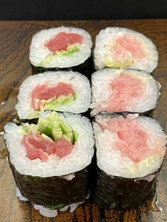 Tekka-Maki, literally ' iron fire roll'.    Why?  Because the tuna resembles burning iron, the roll is not called a tuna roll.