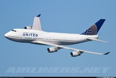 United Airlines Boeing 747-422 Aircraft