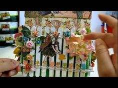 Magical Explosion Box w Once Upon Springtime: IAMROSES In The Garden Contest Entry - YouTube