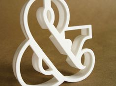 Ampersand typographic cookie cutter by thekarolina on Shapeways Art Classroom, 3d Printer, Cookie Cutters, Signage, Printing, Symbols, Cookies, Experiment, Gifts