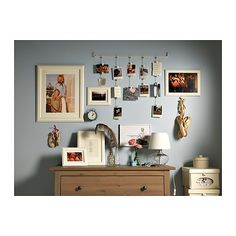 Cute, cheap photo display from IKEA.  $5.99