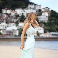 So in love with this dreamy pictorial by the gorgeous blogger @sylvia_daretodiy <3 For this collaboration, Sylvia has chosen #Jarlo #SS15 #Nolita maxi dress in soft mint <3  This is really a stunning photo of this #Jarlo dress with a mesmerising background that completes it!  Make sure to check Sylvia's YouTube channel for plenty of fashion, lifestyle and beauty inspirations!