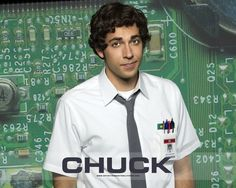 Zachary Levi as Chuck Bartowski he needs my cuddles or ill esplode. He can rub my feet, feed me grapes AND fix our computers.