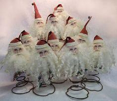 Springy Santas...