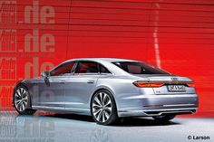 Audi A8 (next gen render) 2