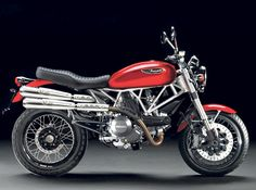 There has been quite a lot of stir around the upcoming Ducati Scrambler, and it looks like the Italian manufacturer is really looking to revive the classic all-rounder machine with a blend of retro styling and modern technology. Ducati 1098s, Ducati Motorbike, New Ducati, Ducati Scrambler, Scrambler Motorcycle, Motorcycle Engine, Motos Retro, Cb 450, Aftermarket Motorcycle Parts