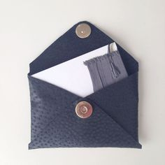 Creditcard holder in leather - jemamuse On the webshop!