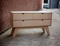 plywood sideboard
