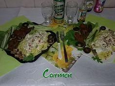 Pastrama de caprioara cu tagliatelle cu sos