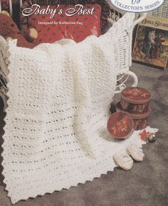 Baby's Best Baby Afghan Crochet Pattern