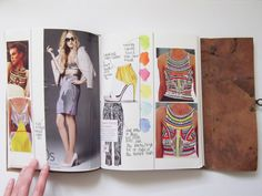 Life In Fashion: Sketchbook Pages