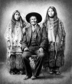 Geronimo and Nieces