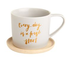 Every day is a fresh start so start yours in style with this gorgeous Cup and Saucer set. Use it to take a mindful moment with your morning cup of tea or coffee and get ready to make each day better than the one before.  Our Svenska Hem Stilla Collection is available in selected stores. To find your nearest stockist of this collection, click here.