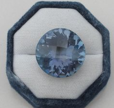 Blue Mystic Quartz Round Gem 25mm #pinnaclediamonds