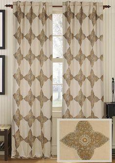Jarboe Jute Curtain Panel - Draperies & Tiebacks - Window Treatments - Linens & Fabrics   HomeDecorators.com