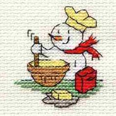Christmas Baking Cross Stitch Kit: Cross stitch (Mouseloft, 014-K33stl)