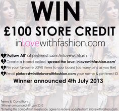 this would be amazing x ilove inlovewithfashion Competitions Uk, As You Like, My Love, New Paris, Giveaways, Euro, Group, Facebook, Store