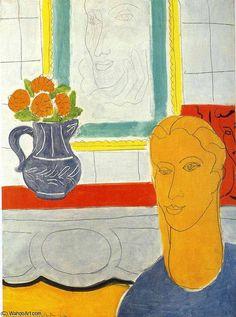 por Henri Matisse (1869-1954, France)                                                                                                                                                                                 Mais