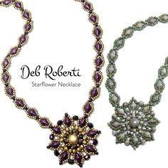 New necklace pattern from Deb Roberti