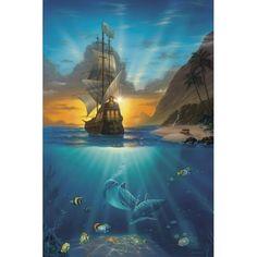 Amazon.com: Jeff Wilke 1000-Piece Puzzle - Pirates Paradise: Toys & Games