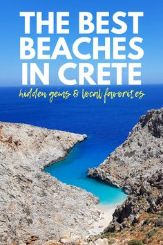 The Best Beaches in Crete: Picking the Perfect Cretan Beaches for Your Vacation Elafonisi Beach Beach Vacation Tips, Best Island Vacation, Beach Trip, Beach Travel, Beach Vacations, Summer Beach, Vacation Food, Girl Travel, Beach Hotels