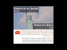 Estatua de la Libertad en Inglés = Statue of Liberty in Spanish