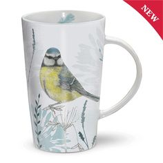 Gifts for Him | Gifts for Her | Latte Mug - RSPB Blue Tit