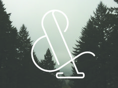 Trail Font by CAMP Design Group #ampersand #character #lettering