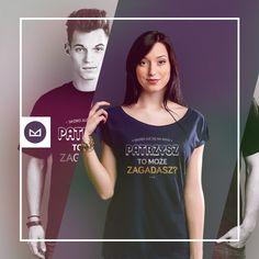 Skoro już się na mnie patrzysz to może zagadasz? #fashion #tshirt #koszulki #clothes #shopping #ubrania #zakupy #camiloca