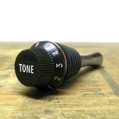 Tone Guitar Knob Wine Stopper Wine Bottle Stopper by jeenoVINO, $21.95
