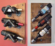 so einfach kann man ein eigenes weinregal selber bauen idei de organizare pinterest wine stand. Black Bedroom Furniture Sets. Home Design Ideas