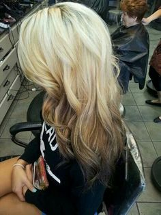 Ombre reverse