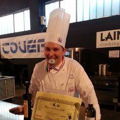 Paolo Paciaroni concorrente a Saranno famosi 2016 (concorso per il titolo di miglior Sous Chef d'Italia)