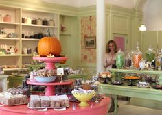 Miette Confiserie in San Francisco.  Chock full of charm!  They are famous for their small scale sweets.