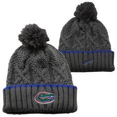Nike Florida Gators Ladies Better Knit Beanie - Gray