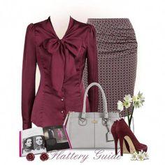 business casual work attire Diva Fashion, Work Fashion, Modest Fashion, Womens Fashion, Classy Outfits, Chic Outfits, Fall Outfits, Fashion Outfits, Business Attire