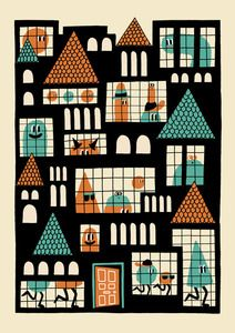 Houses by Matthew Dent via anorak