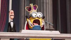 Visit nameofthesong for the music of: Minions - TV Spot 4 Cute Minions, Minions Funny Images, Minions Despicable Me, My Minion, Minions Quotes, Funny Minion, Ticket, Happy Birthday Minions, Minion Banana