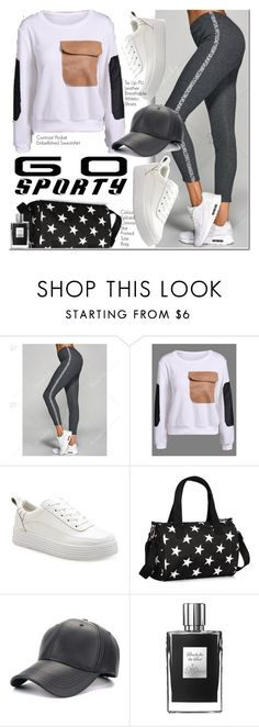 """Go Sporty"" by oshint ❤ liked on Polyvore featuring awesome, amazing, fabulous, dresslily and gosporty"