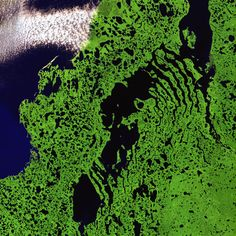 Liverpool Bay, Canada.  #USGS' Earth as Art Collection